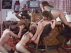 Big Boobs, Group Sex, Hairy, Vintage