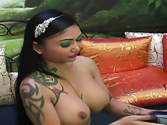 Anal, Big Boobs, MILF, Tattoo, Webcam