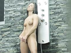 Babe, Ebony, Masturbation, Solo
