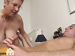 Cumshot, German, Amateur, Mature, Old and Young