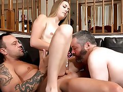 Close Up, Femdom, Group Sex, Threesome
