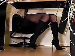Lingerie, Pantyhose, Secretary, Stockings