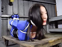 Asian, BDSM, Bondage, Pornstar, Spandex