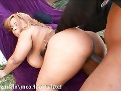 BBW, Big Boobs, Blonde, Hardcore