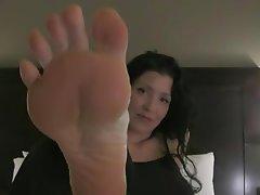 Femdom, Foot Fetish, POV