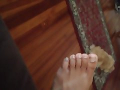 Close Up, Footjob