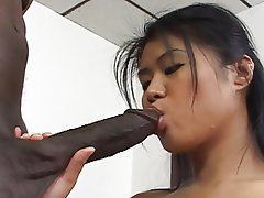 Babe, Asian, Blowjob, Black
