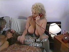 Big Nipples, Blowjob, Cumshot, Threesome, Vintage