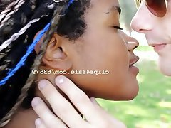 Amateur, Interracial, Kissing