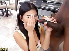Amateur, Asian, Interracial, Big Black Cock, Black