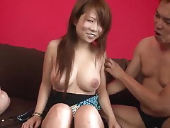 Asian, Japanese, Creampie, Big Tits