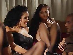 Babe, Group Sex, Hardcore, Italian, Stockings