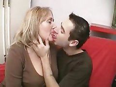 Blowjob, Cumshot, Mature, Old and Young, Strapon