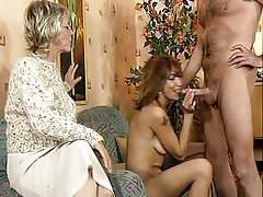 Group Sex, Mature, Old and Young