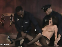 Anal, Big Cock, Ebony, Blowjob, Cumshot