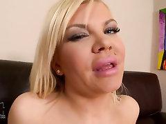 Babe, Big Tits, Stockings, Masturbation, Solo