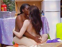 Interracial, Lesbian, Outdoor, POV