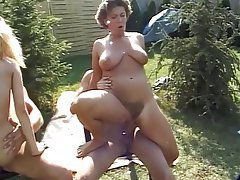 Facial, Group Sex, Outdoor