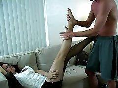 Foot Fetish, Redhead