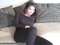 Asian, Ebony, Masturbation, Panties